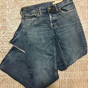 Hollister 31x32 Balboa Straight Leg Jeans